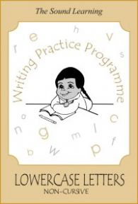 Writing Practice -  Book 4 - Lower Case (non-cursive)